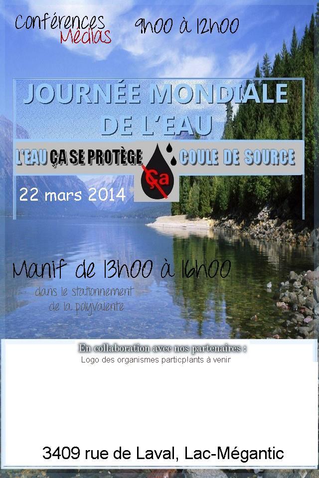 Manifestation Lac Mégantic